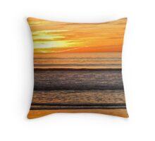 Surfer's Solitude Throw Pillow