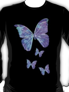 Purple Butterflies by Jan Marvin T-Shirt