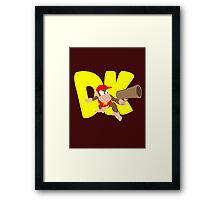 Super Smash Bros Diddy Kong Framed Print