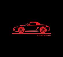 987 Porsche Boxster Top Up by Frank Schuster