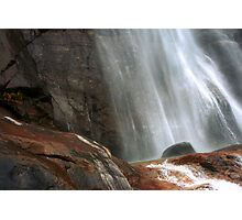 Fall Cascade - detail Photographic Print