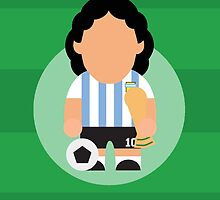 Diego Maradona by johnsalonika84