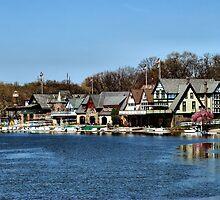Boathouse Row by Bob Wall
