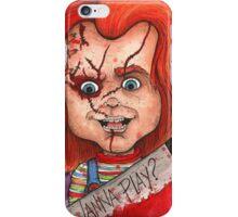 Wanna Play? iPhone Case/Skin