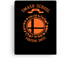 Smash School United (Orange) Canvas Print