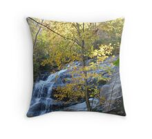Crabtree Falls in Autumn ^ Throw Pillow