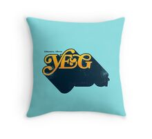 YEG love Throw Pillow