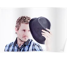 Hats to u too Poster