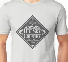 Big Sky Country - Dark print Unisex T-Shirt