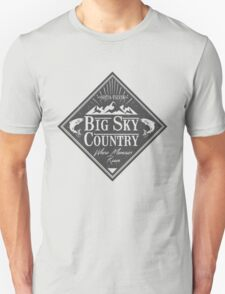 Big Sky Country - Dark print T-Shirt