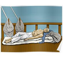 Sleeping Sailor Poster