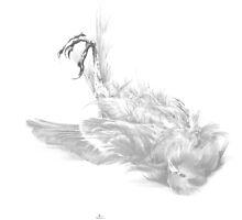 Senescent 2 - graphite drawing by Paul Davenport