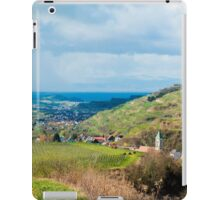 Kaiserstuhl, South-West Germany iPad Case/Skin