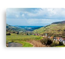 Kaiserstuhl, South-West Germany Canvas Print