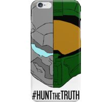 #HuntTheTruth - Locke/Master Chief Colour iPhone Case/Skin