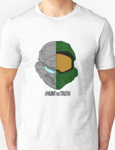 #HuntTheTruth - Locke/Master Chief Colour T-Shirt