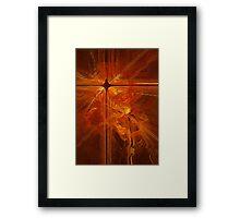 Revelation in fire Framed Print