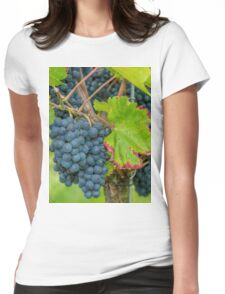 Vineyard, Kaiserstuhl, South-West Germany Womens Fitted T-Shirt