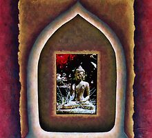 In the Temple of the Buddha by Wendy Meg Siegel