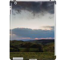 Sunset over the Kaiserstuhl, South-West Germany iPad Case/Skin