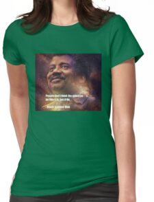 Black Science Man Womens Fitted T-Shirt