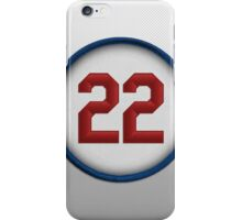 22 - The Claw (on white) iPhone Case/Skin