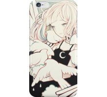 carrying rainclouds and doves iPhone Case/Skin