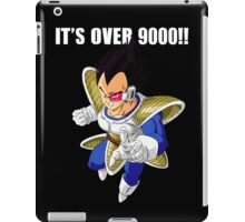 It's over 9000 iPad Case/Skin