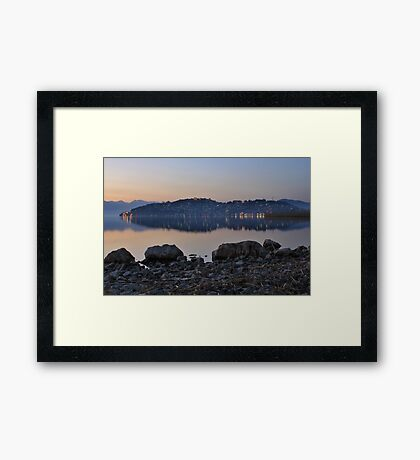 Ohrid city of UNESCO Framed Print