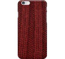red rib iPhone Case/Skin