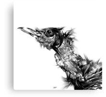 Senescent 5 - charcoal drawing Canvas Print