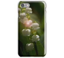 Lily Of The Valley Flowers iPhone Case/Skin