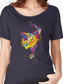 Psychedelic acid bear roar Women's Relaxed Fit T-Shirt