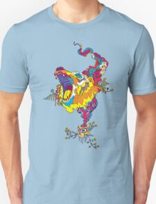 Psychedelic acid bear roar T-Shirt