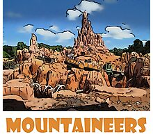 "Big Thunder Mountain Disney World ""Mountaineers"" Photographic Print"