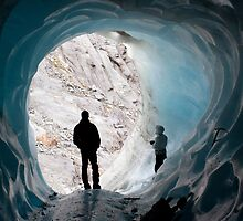 Into the glacier by MSRImaging