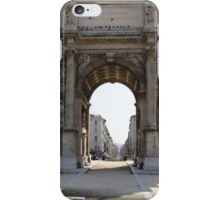 Marseillais Arch, Marseilles, France 2012 iPhone Case/Skin