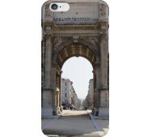 Marseillais Arch, Marseilles, France 2012 iPhone Case/Skin