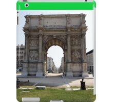 Marseillais Arch, Marseilles, France 2012 iPad Case/Skin