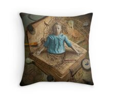 (Unlock Your) Imagination Throw Pillow