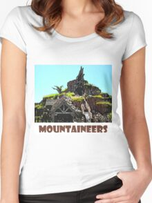 "Splash Mountain Disney World ""Mountaineers"" Women's Fitted Scoop T-Shirt"