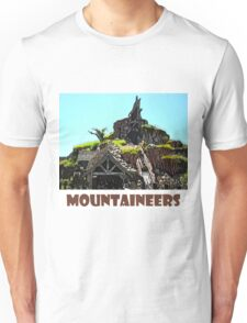 "Splash Mountain Disney World ""Mountaineers"" Unisex T-Shirt"