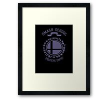 Smash School United (Purple) Framed Print