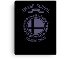 Smash School United (Purple) Canvas Print