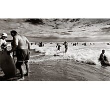 """Woolamai Bathers"" Photographic Print"