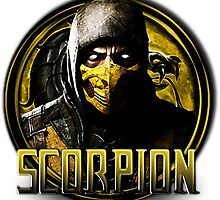 MKX - Scorpion by luterocleric