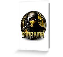 MKX - Scorpion Greeting Card