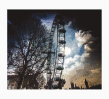 The London Eye Art One Piece - Short Sleeve