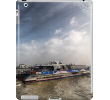 Thames Clipper And Cable Car iPad Case/Skin