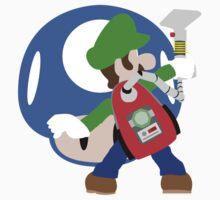 Super Smash Bros Luigi Kids Clothes